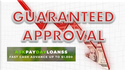 Guaranteed Payday Loans No Matter What