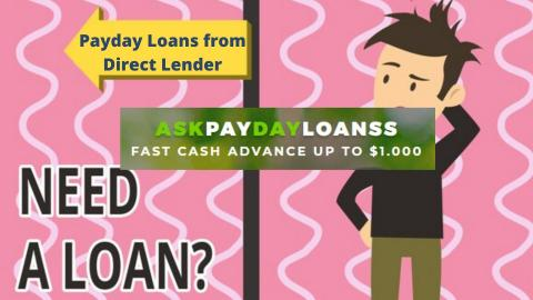 Payday Loans form Direct Lenders